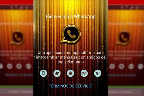 La estafa de WhatsApp Gold